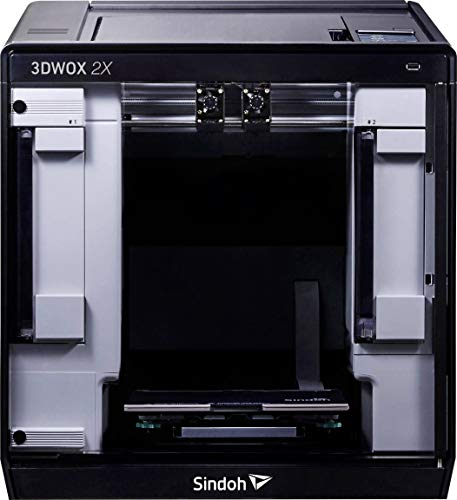 Sindoh 3D-printer 3DWOX 2X touchscreen 12,7 cm camera incl. metalen plaat flexibel incl.