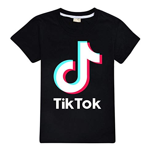 TIK Tok Cotton Short-Sleeved T-Shirts-1_130