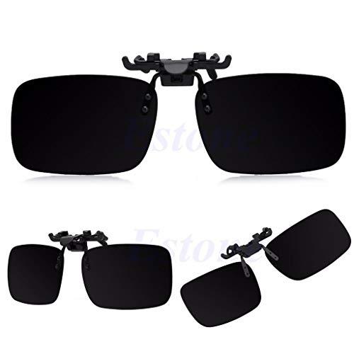 Vivitoch Autobrille polarisierte Tages- und Nachtsichtbrille zum Aufstecken