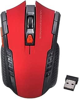 Kavas - 2.4Ghz Mini Portable Wireless Optical 2000DPI Adjustable Professional Souris Gamer Game Mouse For PC Laptop Desktop