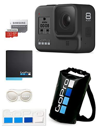 【GoPro公式限定】GoPro HERO8 Black + 予備バッテリー + 認定microSDカード32GB + 公式ストア限定非売品 ...