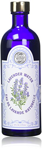 Caswell-Massey Pure Lavender Water - Multi Use Lavender Water - Facial Toner, Freshens Linens, Hair Rinse - All Natural, Alcohol Free, Skin Tonic - Made in USA, 6 Ounces