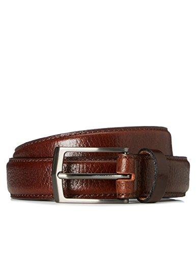 find. Cintura in Pelle Martellata Uomo, Marrone (Braun), Medium