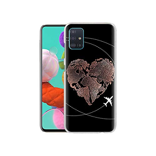 Carcasa para Samsung Galaxy M10, M20, M30, M40, M11, M21, M31 M51 A7 A9 2018, A50, A70, A51 y A71 Hard Cover-H01-for Samsung M20