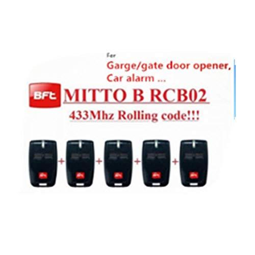 SEADOSHOPPING BFT Mitto2 - Transmisor remoto para puerta de garaje y puerta