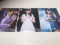 AKB48 チーム4 手をつなぎながら公演 吉橋柚花生誕祭 2020.2.2 写真 稲垣香織 3種コンプ 3