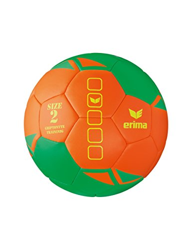 Erima GRIPTONYTE Training Handball, Green/Orange, 2