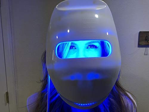 ROCSTDM Near-infrared LED Photon Mask for Home LED Therapy - GOLD   120 LED lights (60 Near-infrared & 60 Visible)   Electric Facial Skin Rejuvenation   Clinically Tested   Best Korean Skin Care Mask