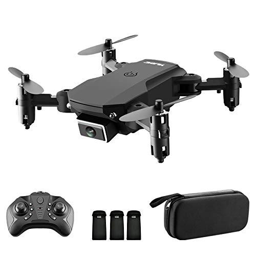 Goolsky S66 Drone RC con Telecamera 4K Drone Dual Camera Posizionamento del Flusso Ottico WiFi FPV Drone modalità Senza Testa Altitudine Hold Gesto Foto Video Traccia Volo 3D Filp RC Qudcopter Borsa