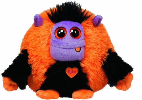TY 7137116 - Frank - Monster orange/schwarz, 15 cm, Monstaz, Halloween, limitiert