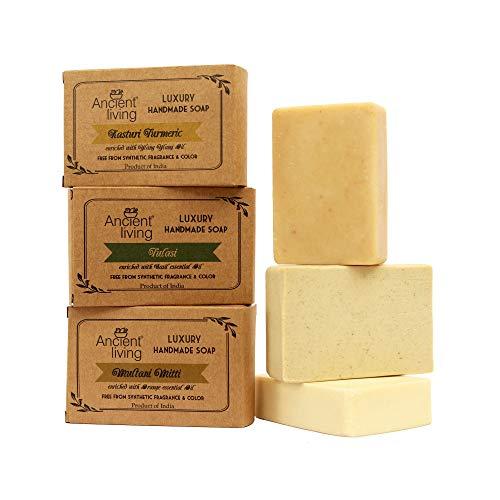 Ancient Living Daily Bath needs (Handmade soaps) – 100 gm each
