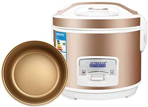 Petit Rice Cooker Ménage 3-4 Personnes Rice Cooker Dortoir 1-2 Mini Intelligent grande capacité d'or Mise hors tension automatique Un démarrage à bouton Gain de temps et effort facile 2020,4L