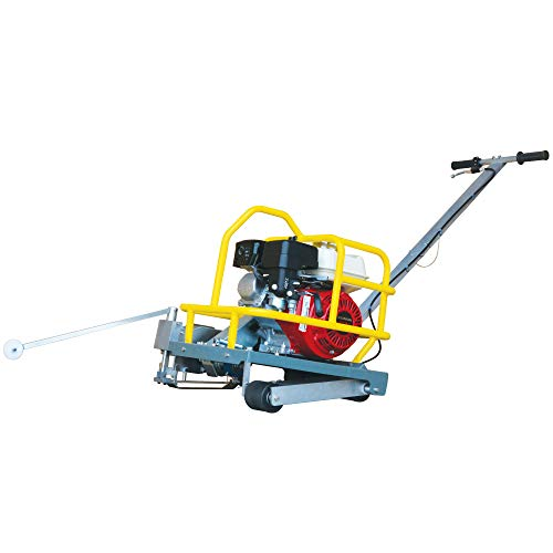TOMAHAWK 6' Early Entry Concrete Saw Walk Behind Green Joint Saw with 3.5HP Gas Powered GX120 Honda Engine and Dust Control