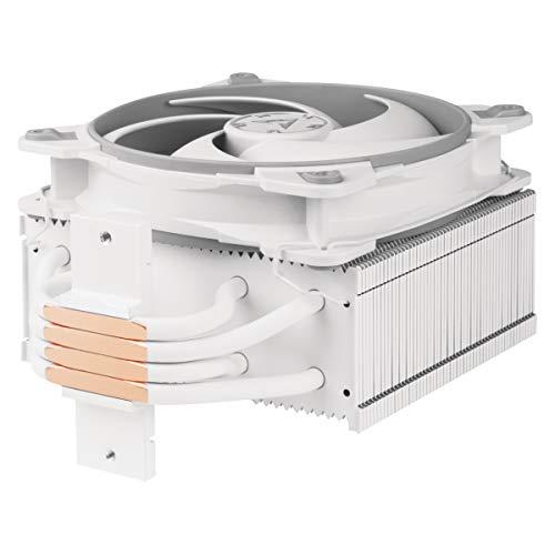 ARCTIC Freezer 34 eSports - Dissipatore di processore semi-passivo con ventola PWM 120 mm per Intel e AMD, Dissipatore CPU, potenza di raffreddamento - Grigio/Bianco