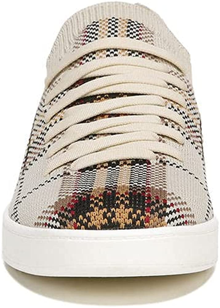 LifeStride Women's Esme 2 Sneaker, Tan Plaid, 8 Wide