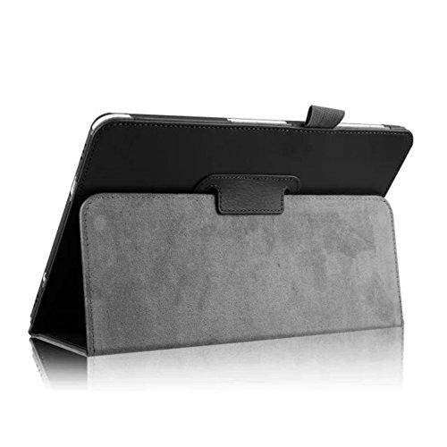 Hülle für Samsung Galaxy Tab S2 9.7 SM-T810 T811 T813 T815 T819 9.7 Zoll Schutzhülle Etui Tablet Tasche Smart Cover S 2 (Schwarz)