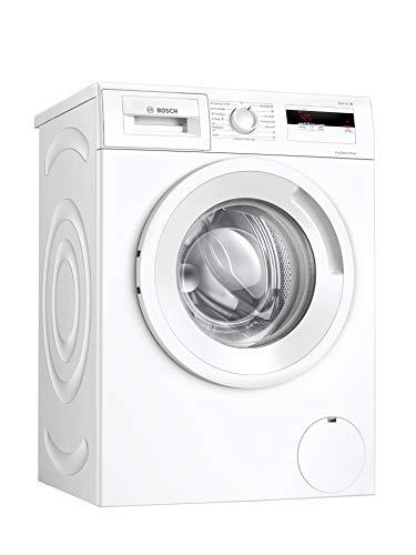 Bosch WAN280A2 Serie 4 Waschmaschine Frontlader / D / 69 kWh/100 Waschzyklen / 1388 UpM / 7 kg / Weiß / Nachlegefunktion / ActiveWater™ Mengenautomatik