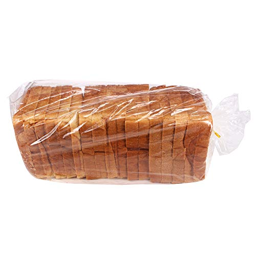 ZMYBCPACK 200 Pack Bread Loaf Bags (8' X 4' X 18') With 200 Free Twist Ties