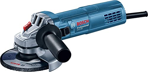Bosch Professional GWS 880 - Amoladora angular (800 W, 11000 rpm, Ø disco 115 mm, protección contra rearranque, en caja)