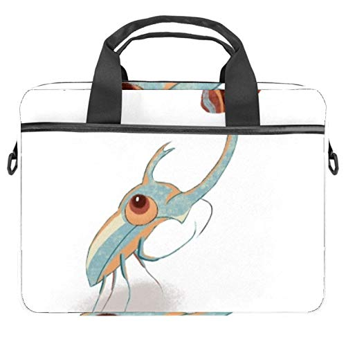 Protective Carry Case Luxury Computer Briefcase Suitable for 13.4'-14.5' Laptop with Display Strong Shrimp