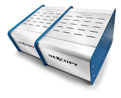 Nexcopy SD Duplicator 40 Target with Mini SD & microSD Adaptors