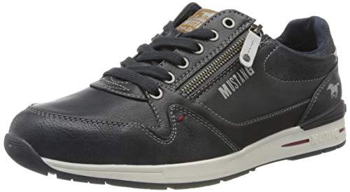 MUSTANG Herren 4154-304 Sneaker, Blau (Navy 820), 44 EU