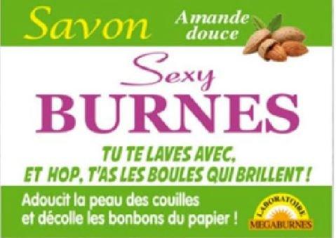 tonnerre Lot DE 3 Savons Humoristique Sexy Burnes