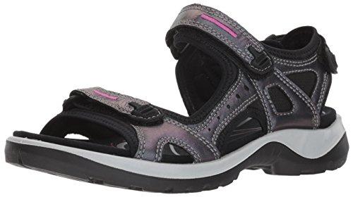 ECCO Women's Yucatan outdoor offroad hiking sandal, irridescent, 5-5.5 M US