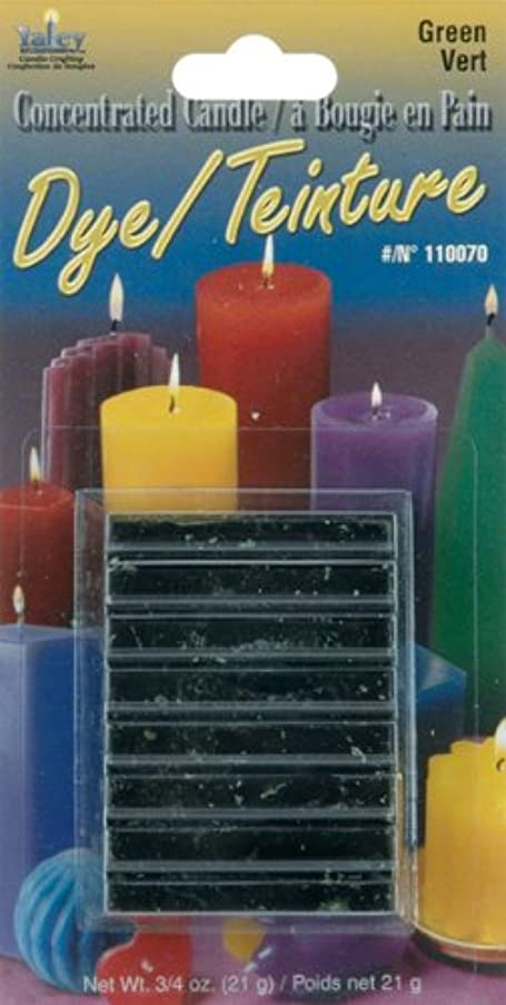 Yaley Concentrated Candle Dye Blocks, 0.75-Ounce, Green