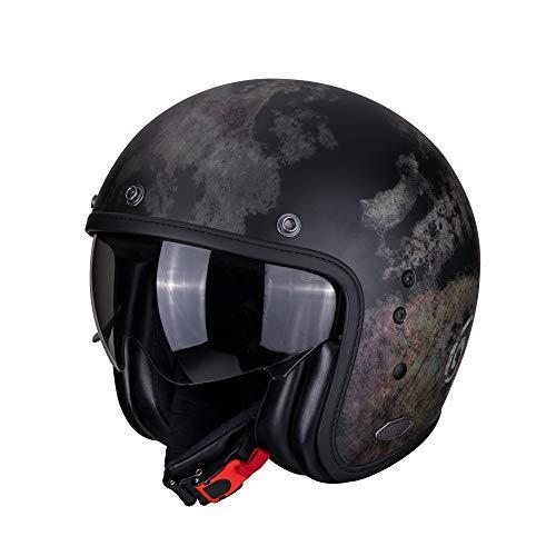 Scorpion Motorradhelm BELFAST Tempus black, Schwarz, M