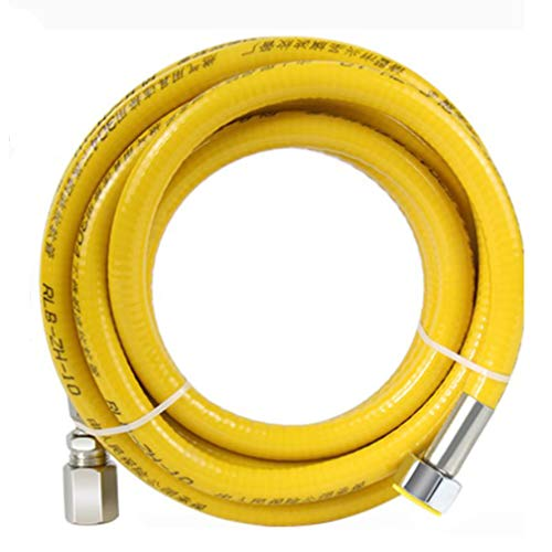 Tuyau de gaz naturel a visser orange 3m