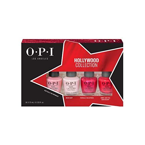 OPI Hollywood Collection Nail Polish, Mini Gift Set 4 x 3.75ml