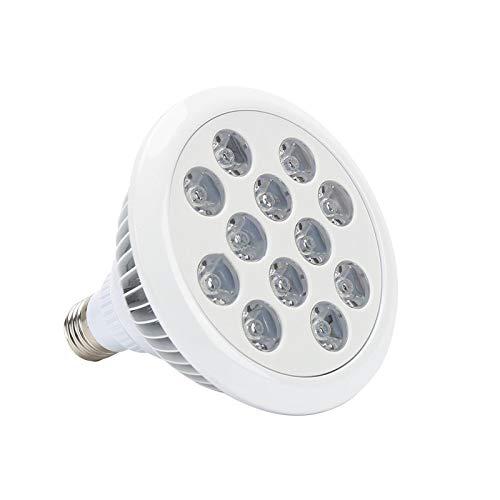 A-ZHP 36W LED Crece la Bombilla for Plantas de Interior, la lámpara E27 Planta Full Spectrum for la floración floración y fructificación Cultivo hidropónico A-