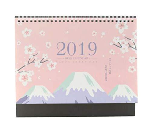 Calendario vertical de escritorio/Calendario lunar/Libro de planes, Calendario 2018-2019, D03