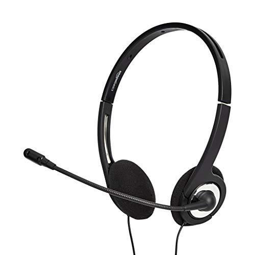 AmazonBasics – USB-Headset mit Mikrofon und Stummschaltfunktion