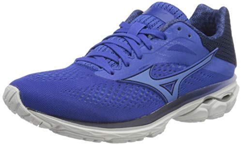 Mizuno Wave Rider 23, Zapatillas de Running Mujer, Azul (Blue/Ultramarine/Medblu 30), 38.5 EU