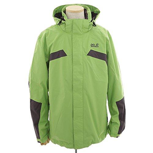 Jack Wolfskin Herren Jacke Topaz II Weatherproof Jacket S - Green