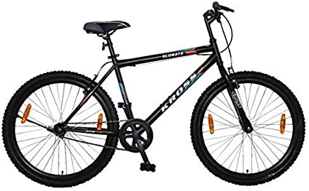 0ef4c9c5a13 KROSS Globate 24T Single Speed Hardtail Bicycle Matt Black (9Years to 13  Years)