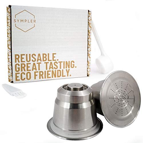 Wiederverwendbare Kaffeekapseln für nachhaltigen Kaffeegenuss - Nespresso Kapseln wiederbefüllbar aus Edelstahl