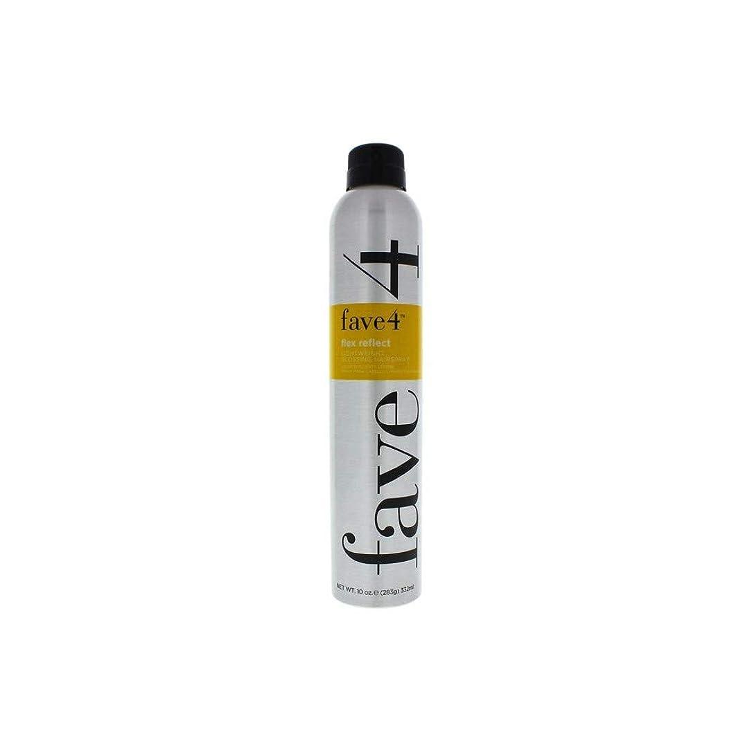 作業原油そばにFave4 Flex Reflect Lightweight Glossing Hairspray 10 oz by FAVE