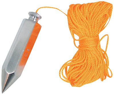 Silverline 250581 - Plomada y cordel (113 g)