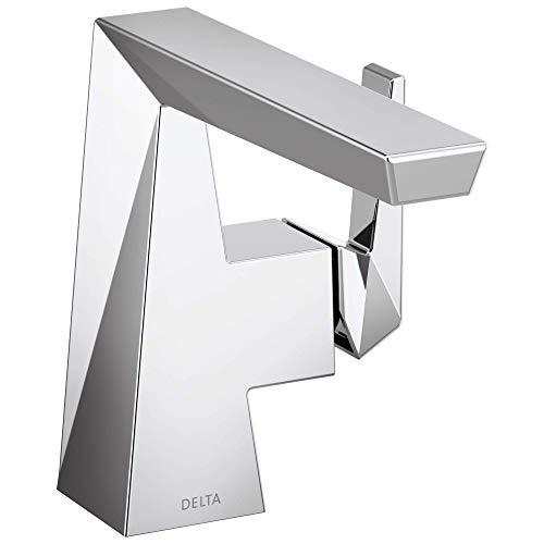 Delta 543-MPU-DST Trillian Handle Bathroom Faucet Single Hole, Chrome