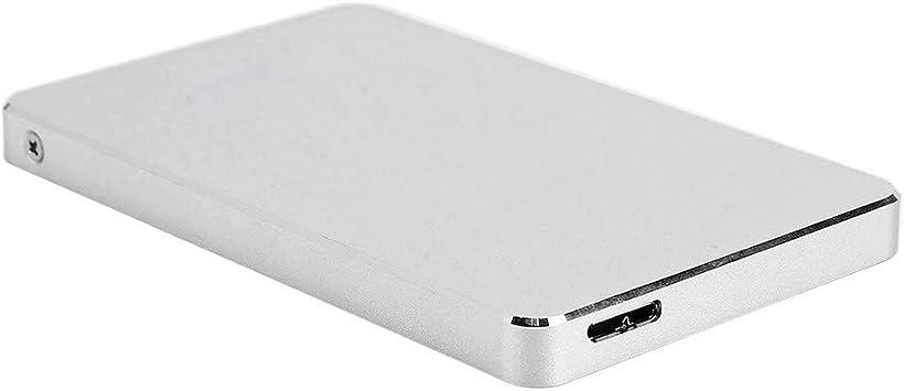 Disco Duro de Estado sólido USB3.0, Disco Duro Externo portátil ultradelgado con 500 GB de Memoria, Disco Duro mecánico antivibraciones sin Ruido para PC