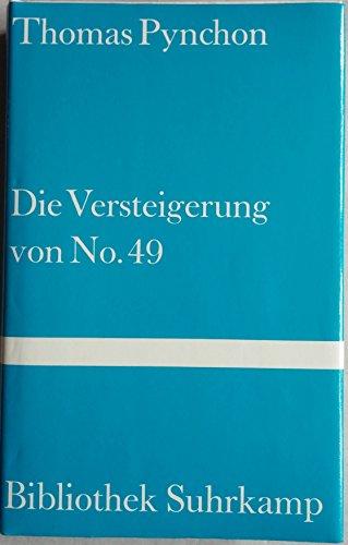 Die Versteigerung von No. 49: Roman (Bibliothek Suhrkamp)