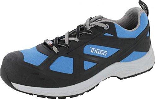 Triuso Arbeitsschuhe S3S3Sicherheit Schuh Sicherheit des Sports monza1Microfaser Aluminium Kapsel GR. 40–46(46)