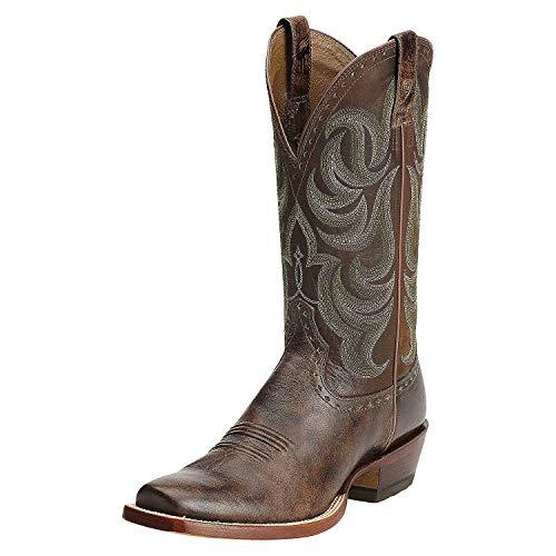 Ariat Men's Turnback Western Cowboy Boot, Buckskin, 10.5 2E US