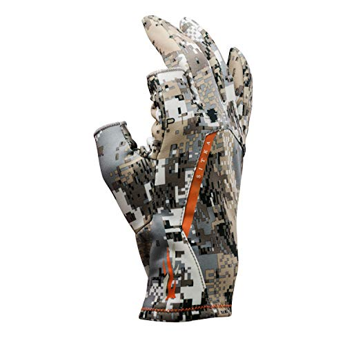 SITKA Men's Fanatic Whitetail Optifade Elevated II Camo Hunting Gloves, Large