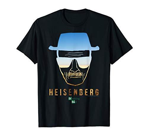 Breaking Bad Heisenberg Desert Horizon Outline T-Shirt