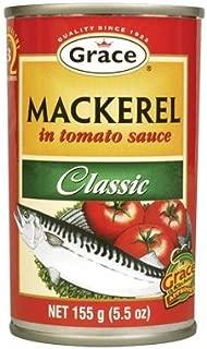 Grace Mackerel in Tomato Sauce (Classic) 10 Pack x 5.5oz