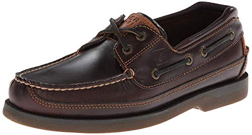 Sperry Top Sider In Pelle Brown 0195115 Scarpa Da Barca Sperry Top Sider Uomo 40